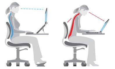 Como sentarte con buena postura para evitar el dolor lumbar